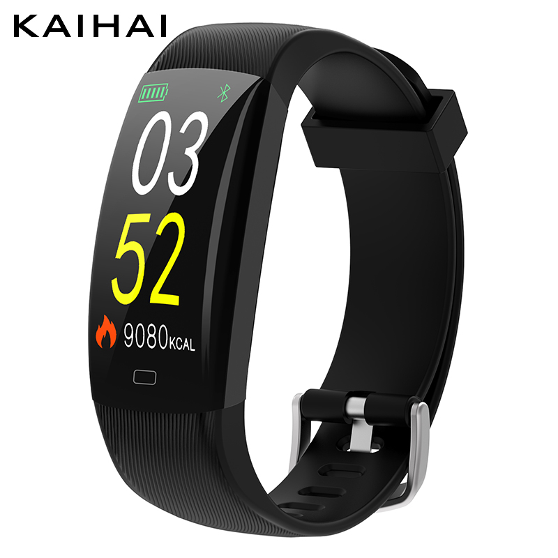 KAIHAI h22 ip68 waterproof fitness tracker smart bracelet heart Rate monitor wrist band smartband relogio inteligente pk mi band