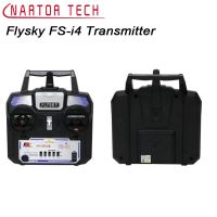 Flysky FS I4 Transmitter DIY RC Helicopter Airplane Remote Control 2 4G 4CH Radio RC Transmitter