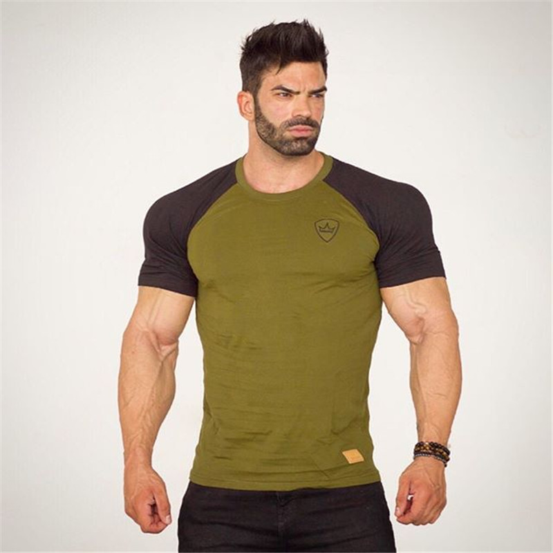 Males trend t shirt 2019 NEW Spring summer time Slim shirts male Tops dineeve character tees clothes T-Shirts, Low cost T-Shirts, Males trend t shirt 2019 NEW Spring summer...