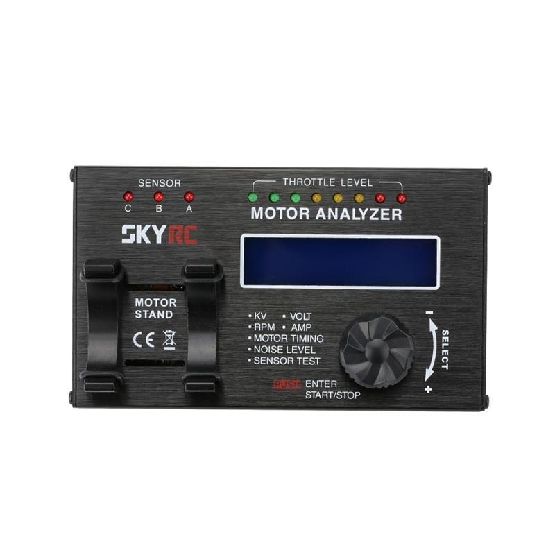 На skyrc Безщеточный мотор анализатор с ЖК-экран для RC автомобилей двигателя SK500020