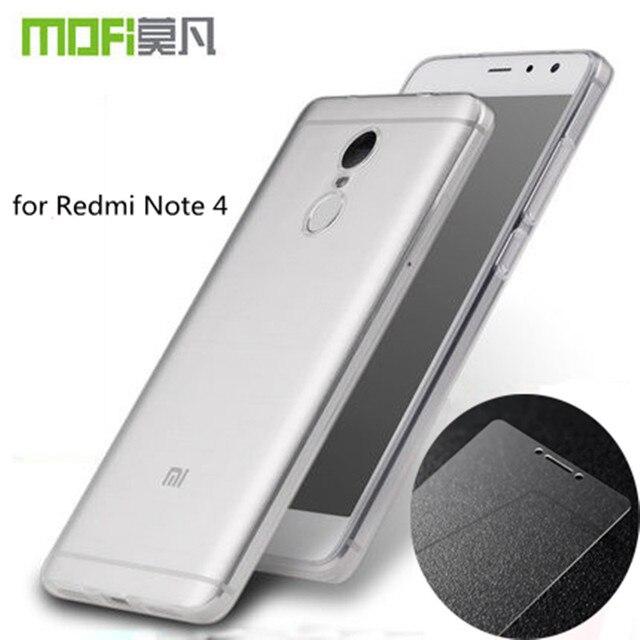 Redmi note 4 silicone case xiaomi redmi note 4 xiomi стекла закаленное xioami красный mi примечание pro премьер-экран протектор кремния крышка