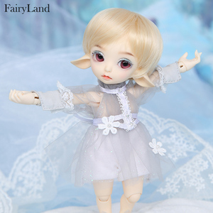 Image 3 - Realfee Luna 19cm Fairyland bjd sd doll fullset lati tiny luts 1/7 body model  High Quality toys  shop ShugoFairy wigs Mini doll