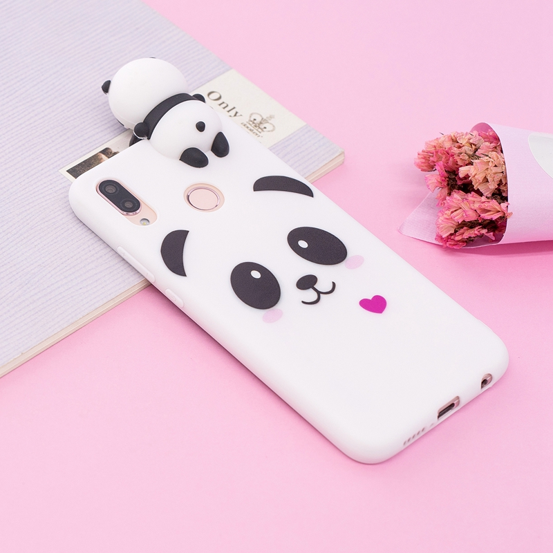 For Coque Huawei P20 Lite Case Cover For Huawei P20 Silicon Cartoon Panda Unicorn for Case Huawei P20 Pro P 20 Lite Back Cover