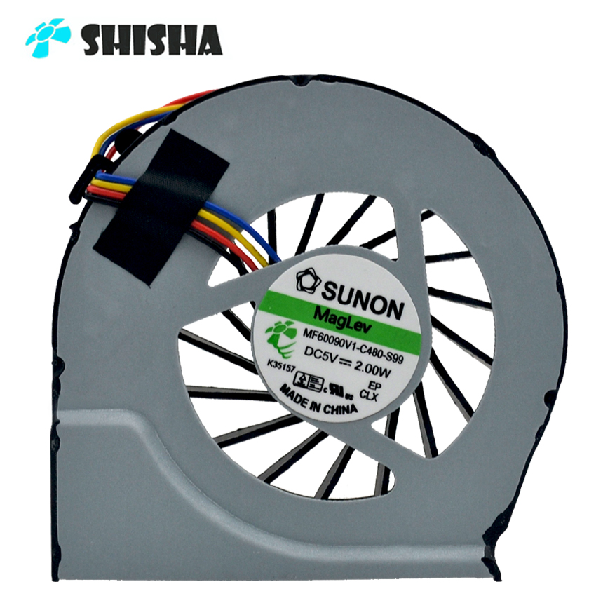 Sunon Cooling fan for HP pavilion G6-2000 G7-2000 G6 G56 CPU cooler 100% Brand new original shisha G7 G6-2000 laptop cooling fan new original cpu fan for hp g4 2000 g6 2000 g7 2240us g7 2000 g6 2278dx 683193 001 685477 001 4pins brand new and original