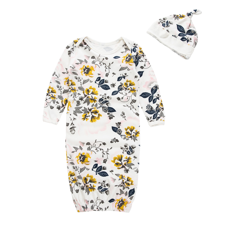 Nieuwe Mode Kinderen Slaapzak Kinderen Baby Pyjama Baby Boy Pyjama Slapen Pak Voor Baby Pasgeboren Nachtjapon Nachtkleding Robes Dingen Gemakkelijk Maken Voor Klanten