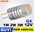 3W G4 DC LED Bulb led light lamp 12V ultra bright Cold white Warm white light factory outlet High quality free shipping