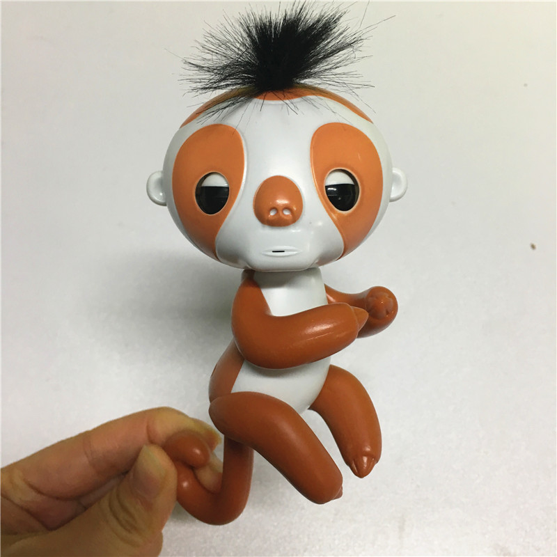Finger-sloth-with-recording-function-with-charger-with-box-Cute-Smart-Colorful-Finger-monkey-Electronic-Pets-Christmas-Gift-Kid-1