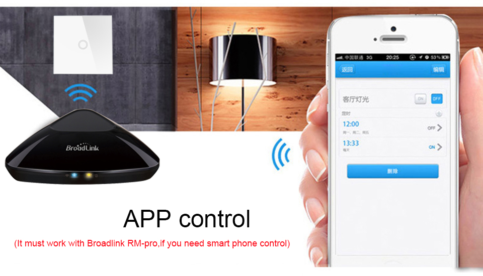3-CH Wireless Smart Remote Control Switch 433mhz RF Smart Controle Remoto  Plug Touch Wall Mounting Light Switch Smart Home Use