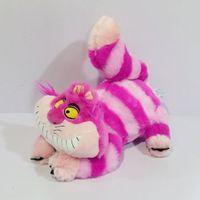 1 stks Alice in Wonderland de Cheshire Kat Kawaii Knuffels leuke Glimlach Kat Knuffels Kids Geschenken Zachte Speelgoed voor kinderen