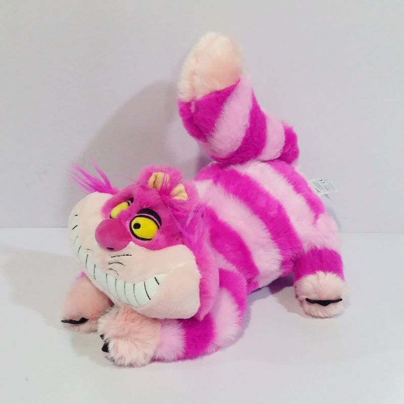 1pcs Alice in Wonderland the Cheshire Cat Kawaii Plush Toys Cute Smile Cat Stuffed Animals Kids Gifts Soft Toys for Children 1pcs ratatouille remy mouse plush toy soft stuffed animals kids toys for children gifts