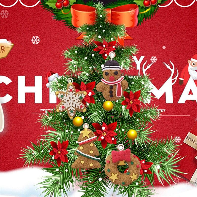 Christmas Decoration Wholesalers: 6/11 Pcs Deer Snowman Christmas Tree Pendant Decoration