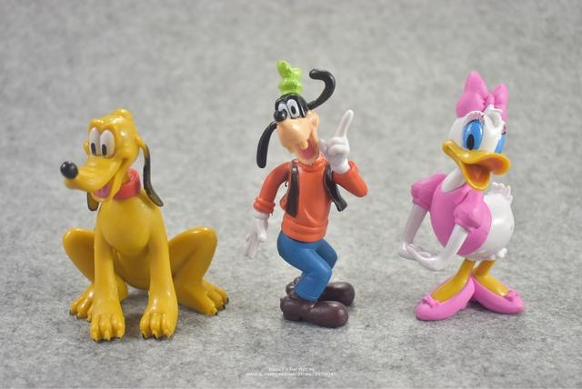 Disney Mickey Mouse Minnie 6pcs/set 10cm