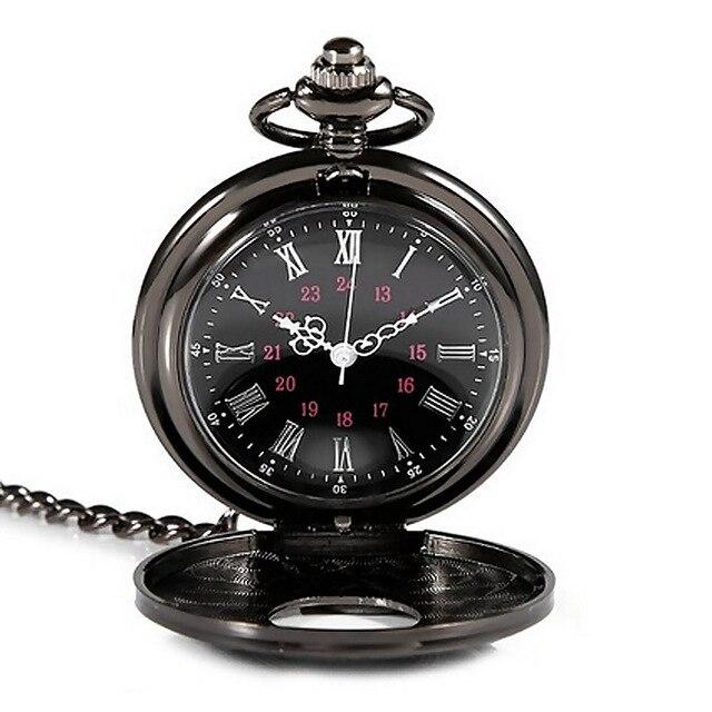 New Clock Timer Retro Classic Pocket Watch Antique Steam Punk Quartz Necklace Pe