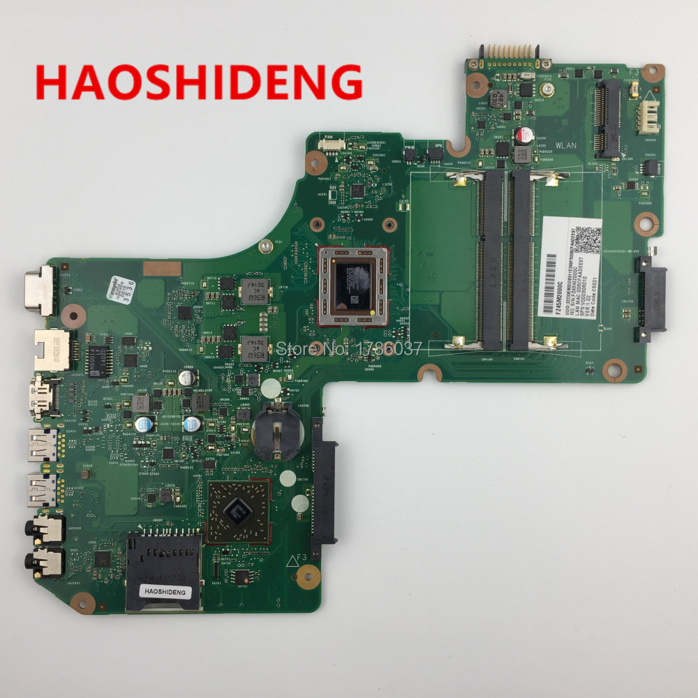 V000308010 for Toshiba Satellite L950D L955D motherboard with A8-4555M  1.6Ghz CPU.All functions fully Tested !