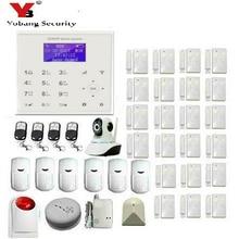 YobangSecurity Wireless Wifi GSM GPRS Home Security System WiFi Burglar Alarm Wireless Camera Flash Strobe Siren APP Control