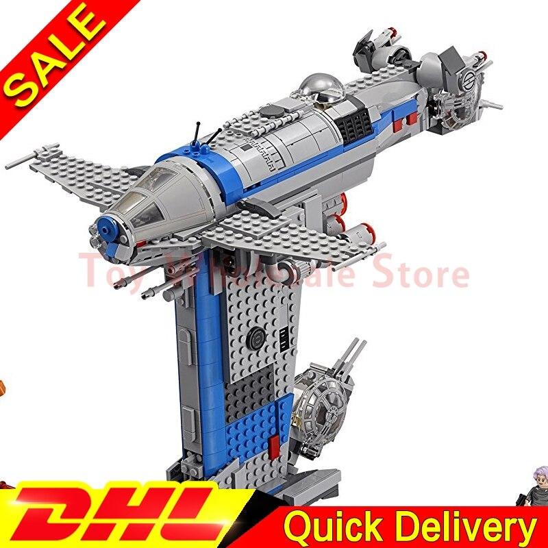 Lepin 05129 The Resistance Bomber 873Pcs Star Plan Series Building Blocks Bricks Assemblage Toys DIY Educational Model 75188 конструктор lepin star plan истребитель набу 187 дет 05060