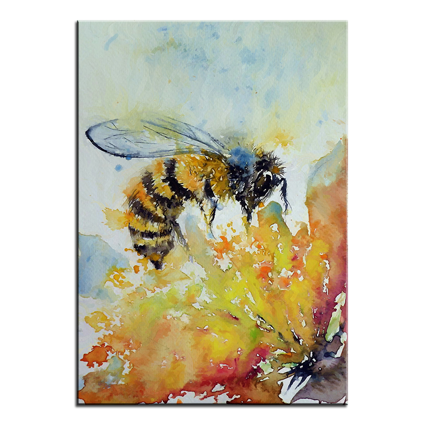 Large size Printing Oil Painting bee kovacs Wall painting Wall Art ...