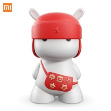 Original Mitu Xiaomi Bluetooth LED Speaker Mini Size Portable Built In LED Support 32GB SD Card