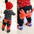 Младенцы и дети ребенок теплые брюки утолщение мальчик девочка шаровары детская одежда плюс бархат брюки