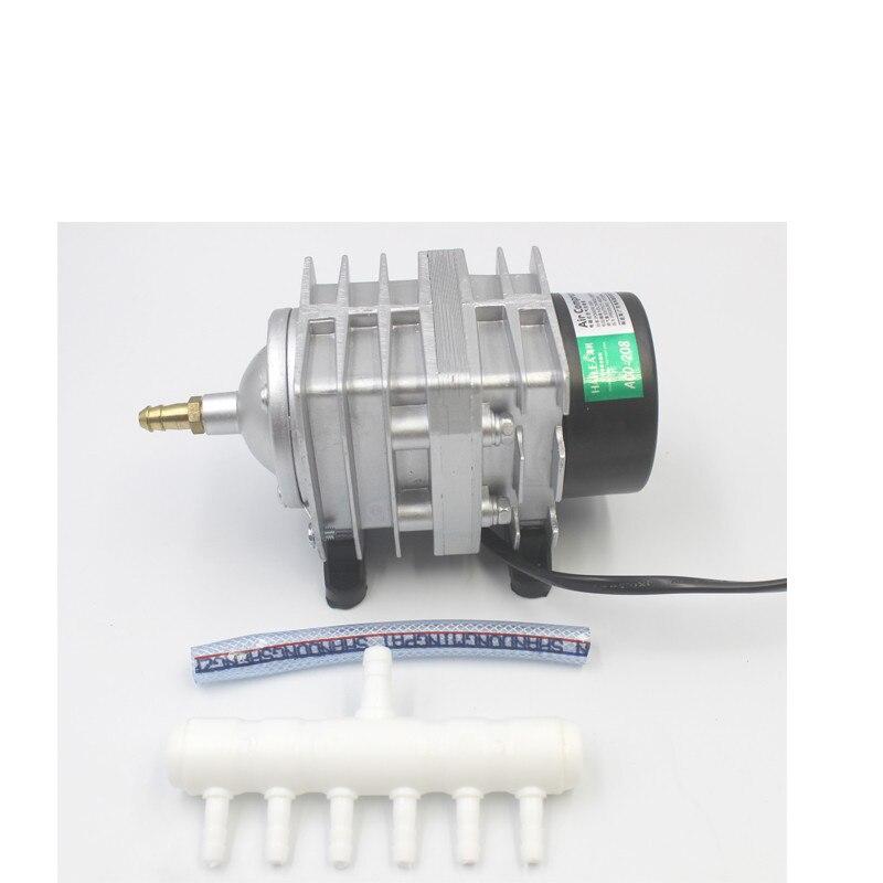220 V Hailea ACO-208 308 318 Eletromagnética compressor de ar portátil bomba de ar Do Aquário da bolha do tanque de peixes koi lagoa arejador