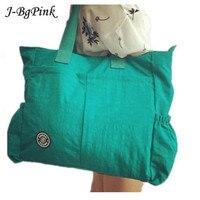 Супер большой мешок! Бренд Для женщин сумка Водонепроницаемый нейлон плечо Повседневное Tote Стиль женская сумка