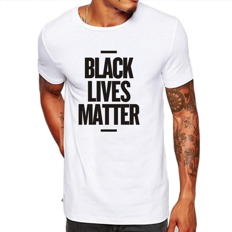 HTB1Ac1xOxnaK1RjSZFtq6zC2VXa2 - Showtly Black Lives Matter Men's T Shirt BLM Tee Tops Activist Movement Clothing Casual Cotton Short Sleeve