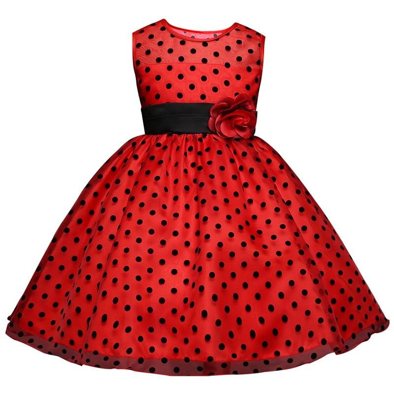 72c526c44b96 Flower Design Infant Kid Girl Birthday Gown White Tulle Dress Girls ...