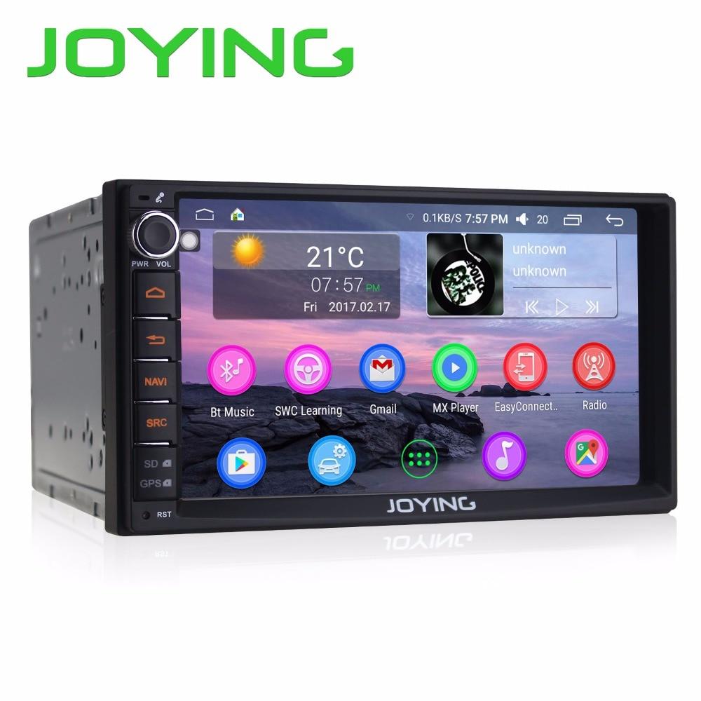 JOYING Android 6.0 Double 2 Din 7 HD HU head unit DVD Player autoradio GPS Navi System Car radio Support WiFi DAB+ TV Bluetooth