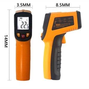 Image 5 - הדיגיטלי Pyrometer IR אינפרא אדום מדחום GM900 KT400Y ללא מגע אלקטרוני מד נקודת אקדח
