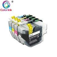 ColorInk LC3219XL LC3217 XL 3219 cartucho de tinta Para O Irmão LC3219 LC3217 MFC-J5330DW J5335DW J5730DWJ5930DW cartuchos de impressora