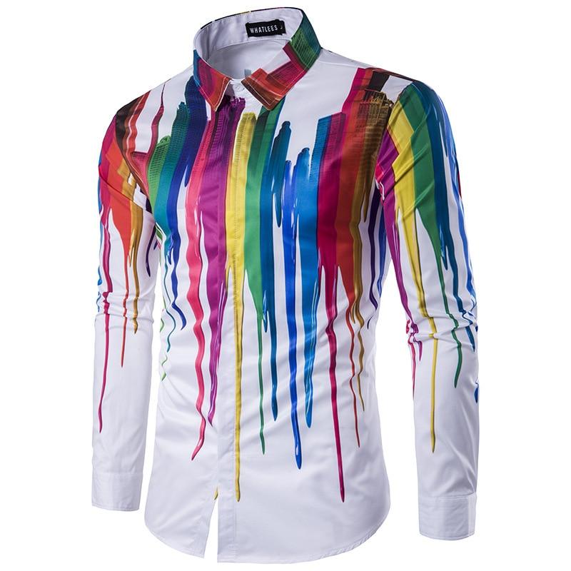 Hommes chemises à manches longues hommes mode Design tendances Camisa Social Masculina Slim Fit décontracté chemises de grande taille homme dentelle chemise