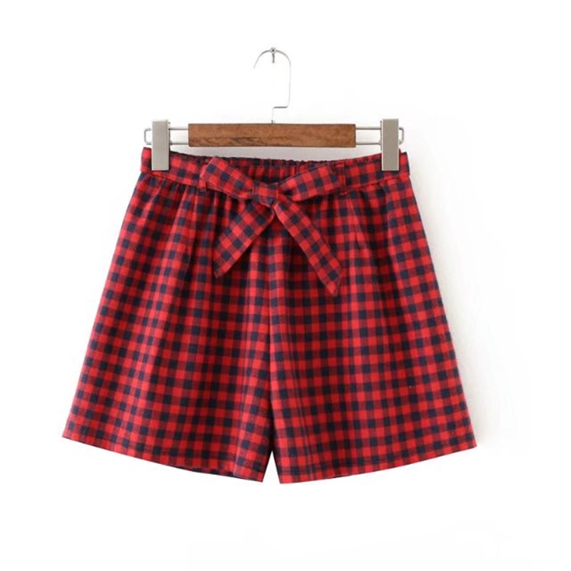 Popular Red and Black Plaid Shorts-Buy Cheap Red and Black Plaid ...
