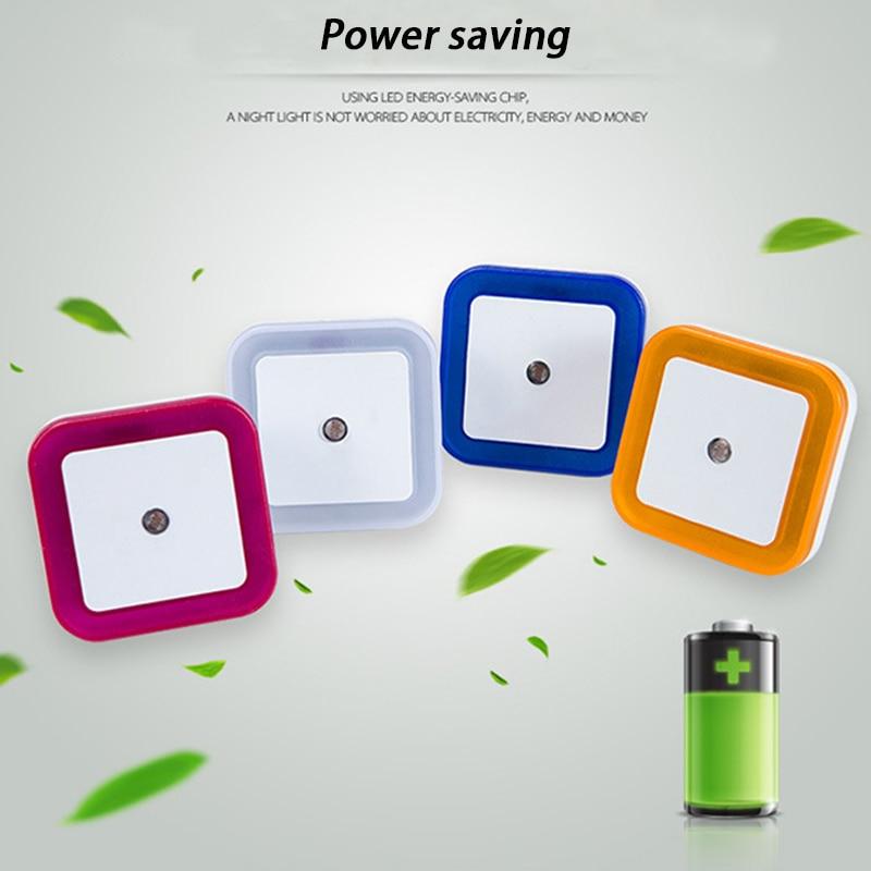 Clever Light Sensor Control Night Light Mini Eu Us Plug Novelty Heart Shape Bedroom Lamp For Baby Gift Romantic Colorful Lights Lights & Lighting