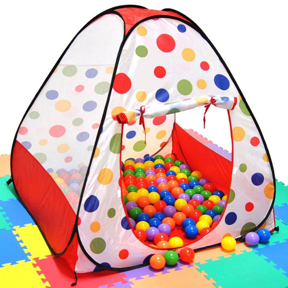 Free Shipping Kids Out & Indoor Play Tent Safety Ocean Ball Pit Playpen Convenient Tentage TY340287