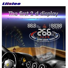 Liislee For Chevrolet Camaro SS 2015 2016 Car HUD Head Up Display Refkecting Windshield Screen Safe Driving Screen Projector