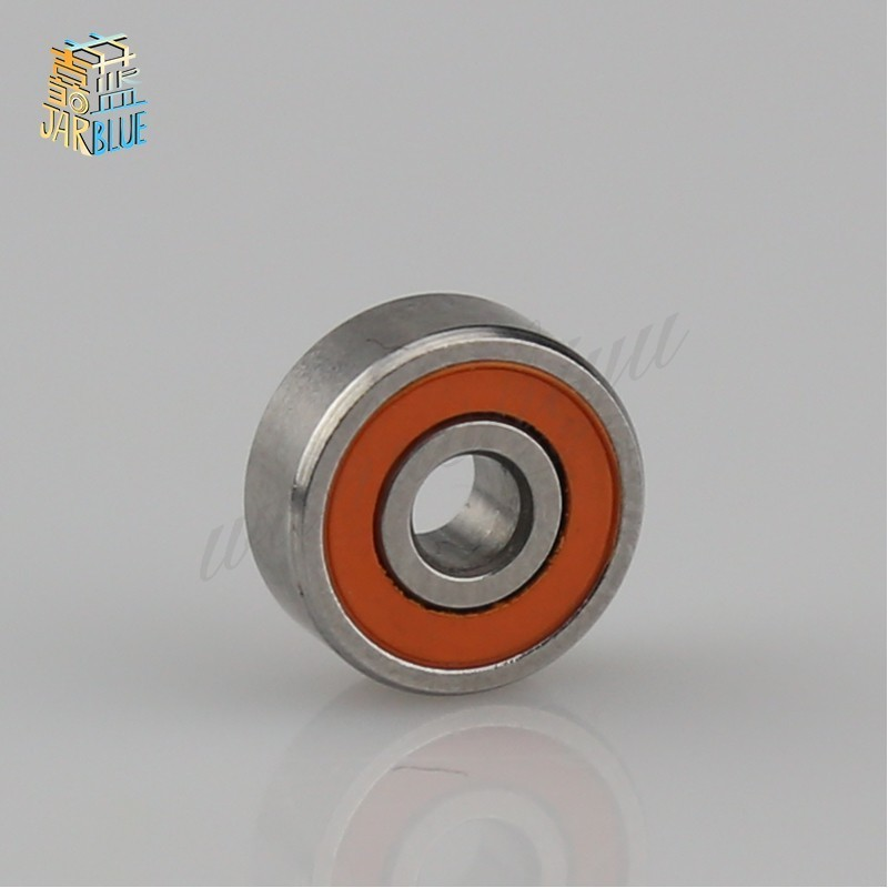 Fishing Reels 4x7x2.5mm Flanged Precision Stainless Steel Ball Bearings 10