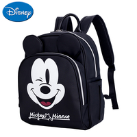 Disney Minnie Mickey fashion classic diaper bag large capacity bottle insulation baby bag travel bag polyester backpack