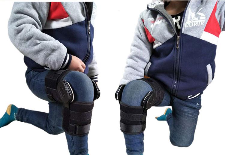d87bc38a64 Child Knee Overstroke Knee antihyverting orthosis brace Adjustable knee  knuckle fracture