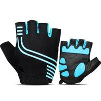Cycling Gloves Half Finger Mens Women's Sports Shockproof Anti sweat Bike Gloves MTB Bicycle Gym Fitness Non slip Sports Gloves