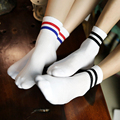 New 2016 Cotton Socks Casual Women Socks Men Striped Socks Casual Retro Socks Hot Sale Autumn Winter Wear