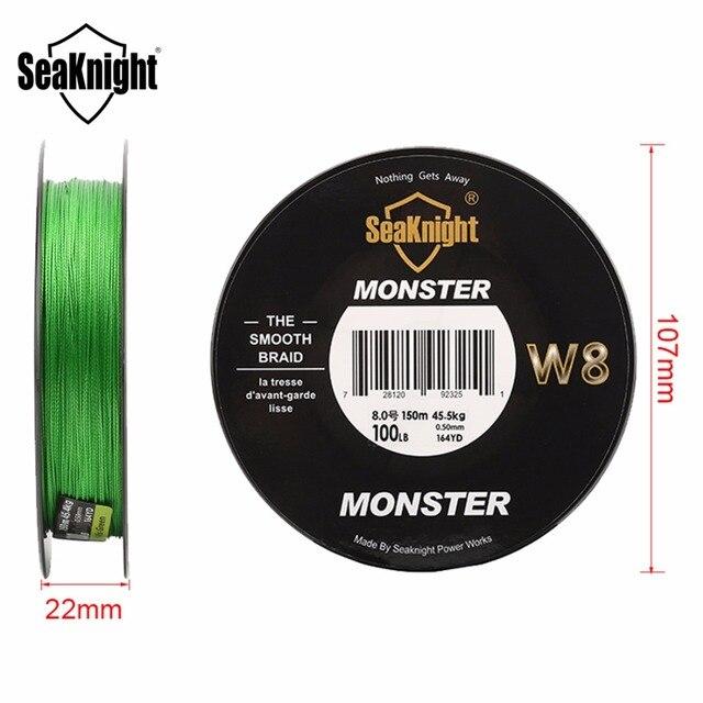 Amazing Seaknight W8 8 Strands Braided Fishing Line Fishing Lines cb5feb1b7314637725a2e7: Black|Blue|Hi vis gray|Hi-Vis Green|Hi-Vis Yellow|Low green