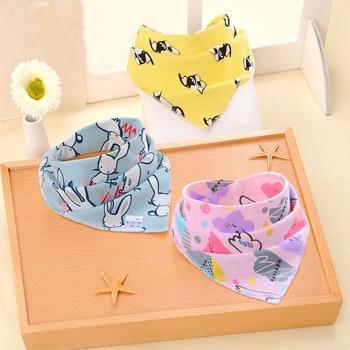 Oklady New Baby Bibs Cotton Bibs Soft Baby Smock Newborn Boys Girls kids Bibs Cartoon Baby Stuff 1