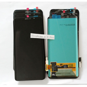 Image 2 - 100% Elephone U U 프로 AMOLED LCD 디스플레이 + 터치 스크린 디지타이저 어셈블리 교체 부품 5.99 인치 18:9 있음
