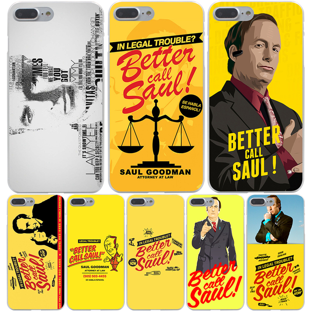 Better Call Saul Hard Transparent Cover Case for iPhone 7 7 Plus 6 6S Plus 5 5S SE 5C 4 4S