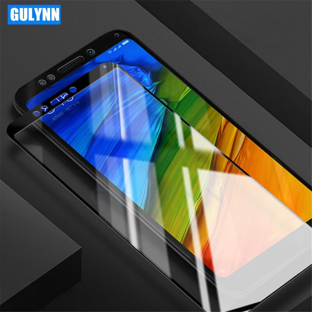 3D Full Screen Premium Tempered Glass For Xiaomi Redmi A1 4A 4X 5A 9H Full Cover Protector Film For Redmi Note 5A Note 4 4X Case(China)