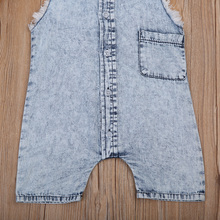 Toddler Denim Romper