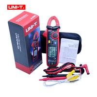 UNI T UT210D Digital Clamp Meters Multimeter True RMS AC DC Current Capacitance Tester Digital Multimeter