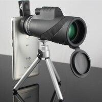Mobile Phone Telescope 40x60 Zoom Monocular Field Glasses Handheld Telescope Military HD Optical Lens Hunting Telescopio
