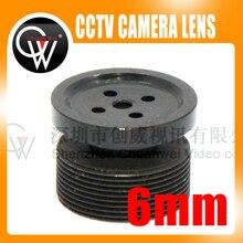 Button 6mm lens Board lens M12 CCTV LENS for Surveillance CCTV Video Camera Free shipping