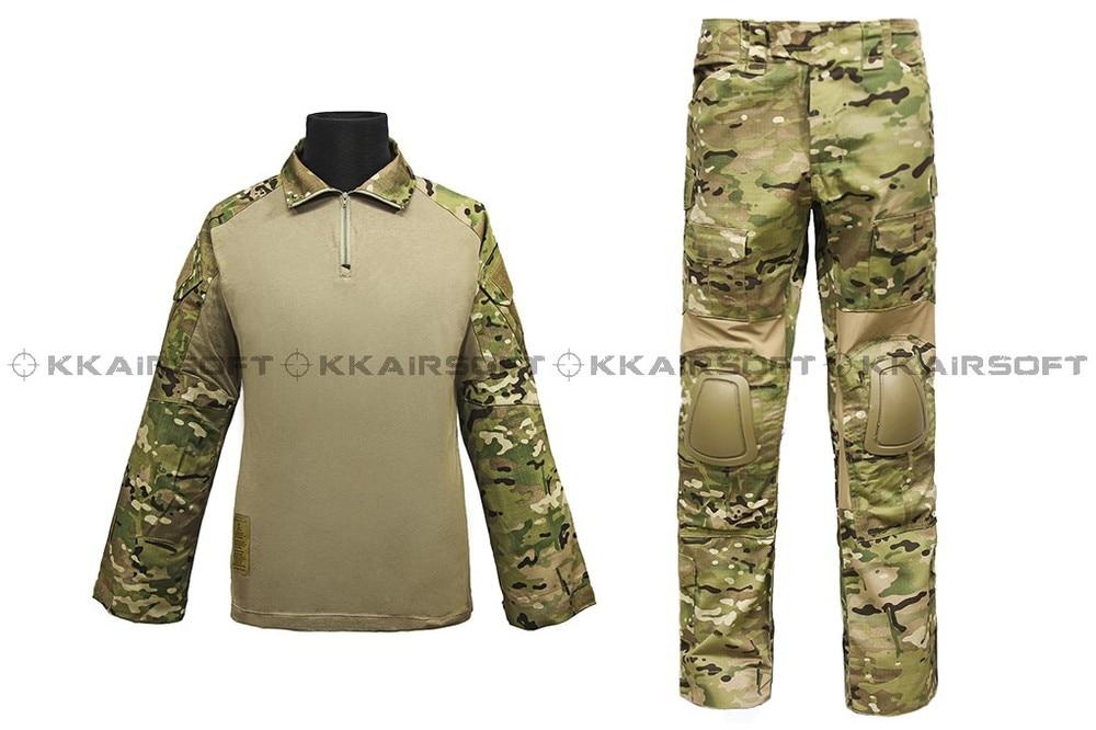 us army military uniform for font b men b font EMERSON Combat Uniform Gen2 Multicam em2725
